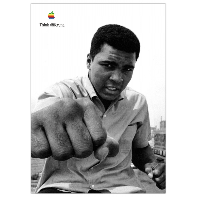 Apple Poster Muhammad Ali