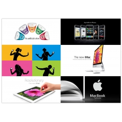 Apples beste Werbeanzeigen Poster