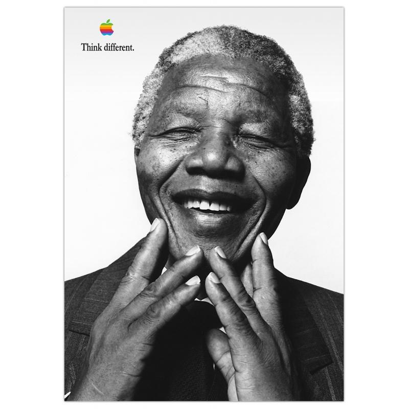 Apple Poster Nelson Mandela