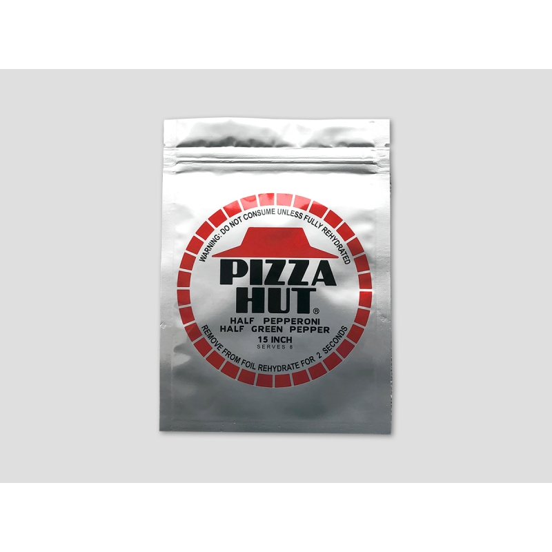 PIZZA HUT packaging