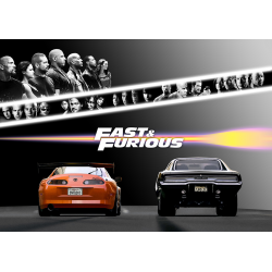 The Fast and the Furious Filmposter