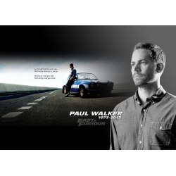 In memory of Paul Walker - Movie Poster