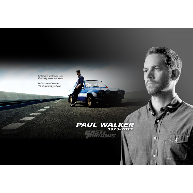 In memory of Paul Walker - Movie Poster