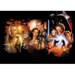 Star Wars Episode I-III Movie Poster