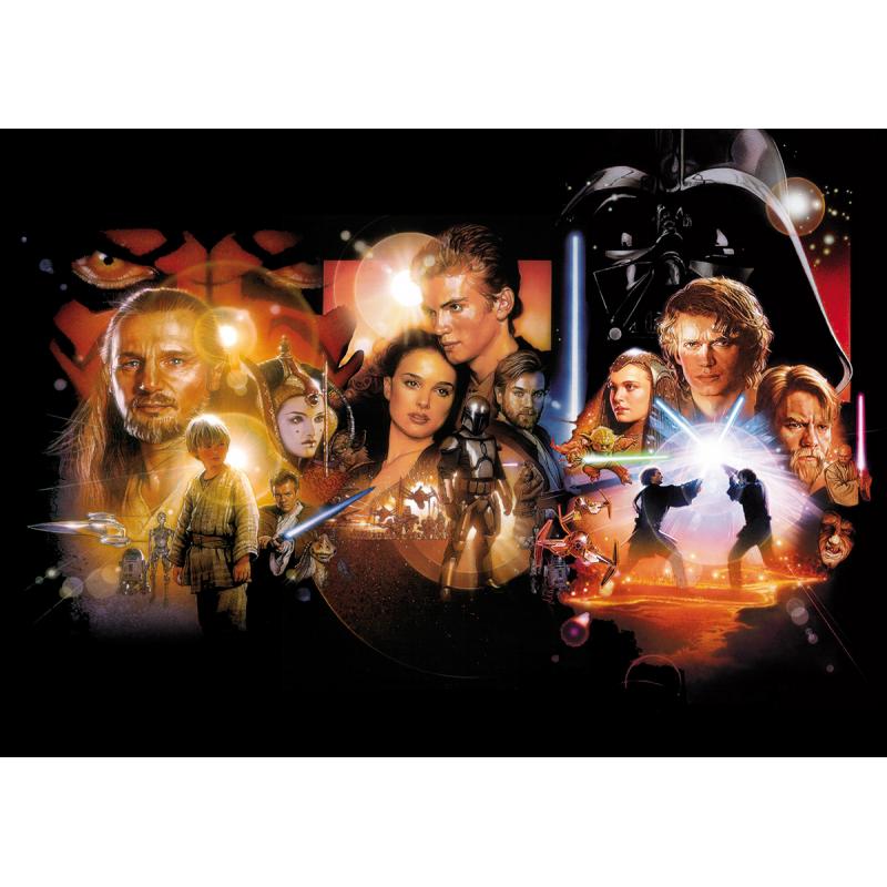 Star Wars Episode I-III Movie Poster