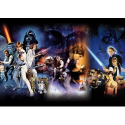 Star Wars Episode IV-VI Filmposter