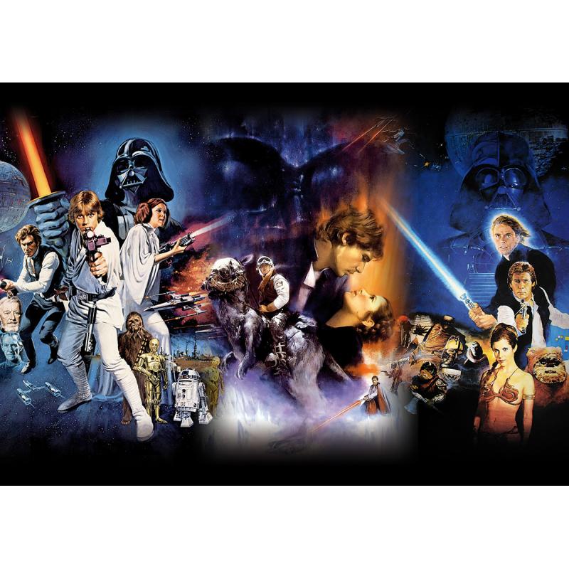 Filmposter Star Wars Episode IV-VI Filmposter Größe DIN A1 (59,4 x ...