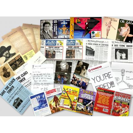 BUNDLE: Zurück in die Zukunft Prop-Sammlung