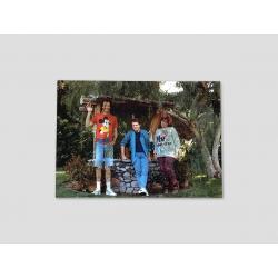 Foto Marty mit Bruder und Schwester