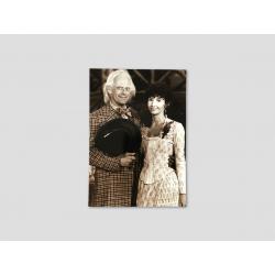 Foto Doc Brown mit Clara Clayton