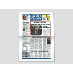 "Title page USA TODAY ""Youth Jailed"""