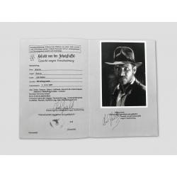 "Indiana Jones ""Wanted Flyer"""