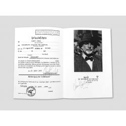 Travel document of Henry Jones Sr.