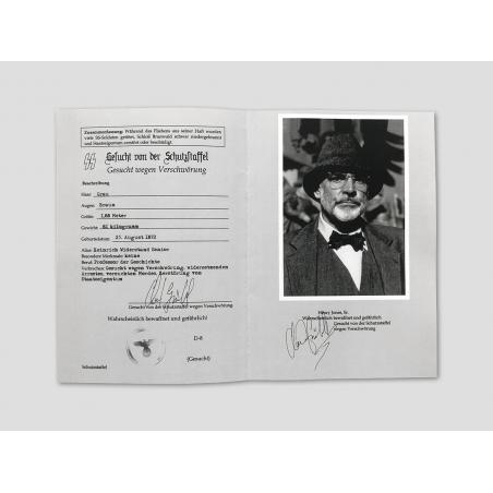 """Henry Jones Sr. """"Wanted Flyer"""""""