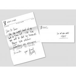Brief von Marty an Doc 1955 - inkl. Umschlag
