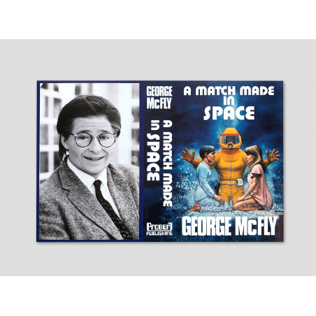 """Book cover """"A Match made in Space"""""""