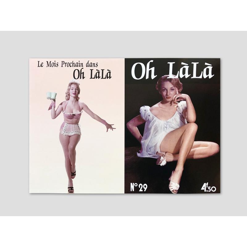 """Magazine cover """"Oh Lálá"""""""