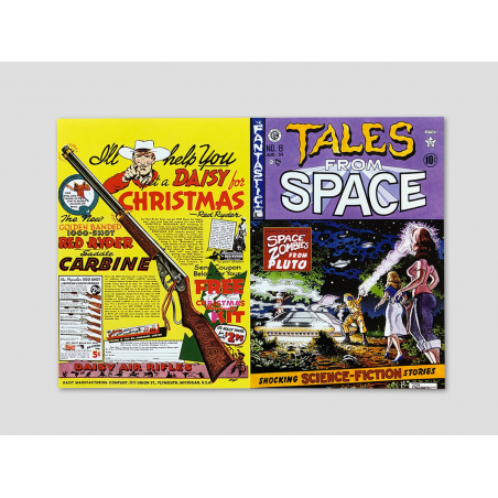 """Magazine cover """"Tales from Space"""""""