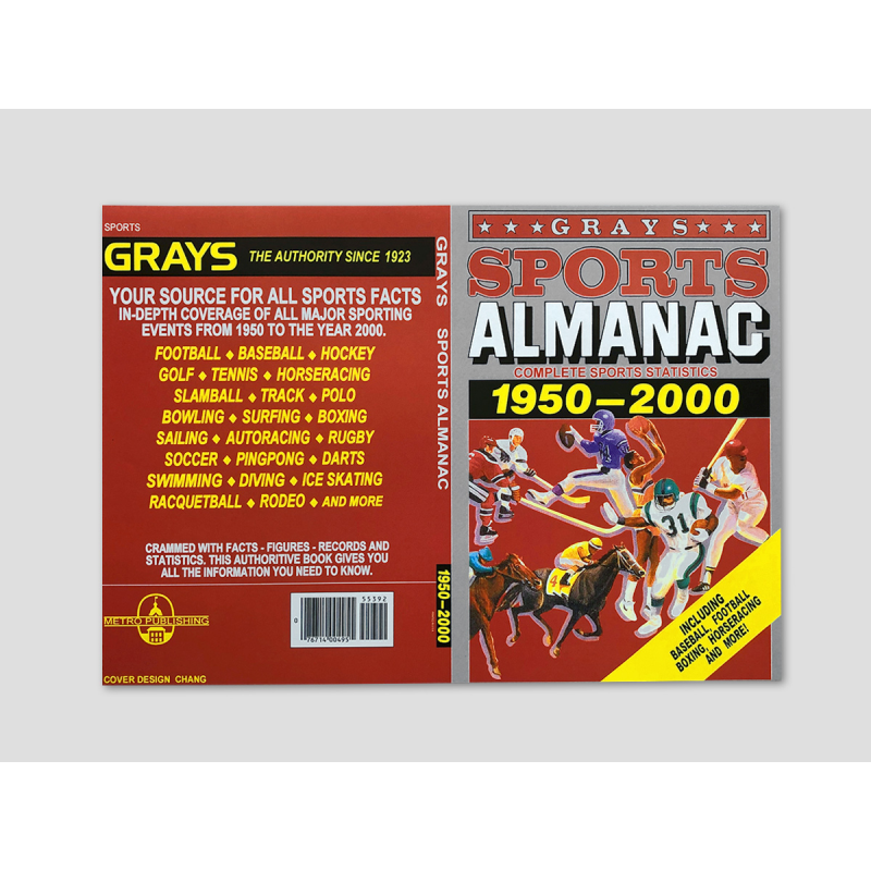 "Magazine cover ""Grays Sports Almanac"""