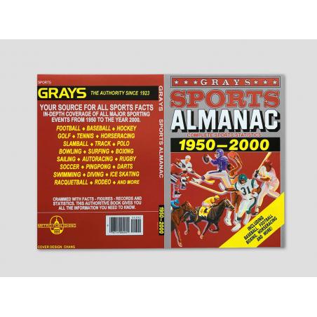 "Magazine cover ""Grays Sports Almanac"""
