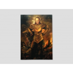 Painted portrait of Vigo