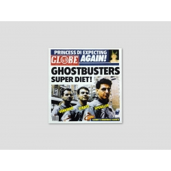 """Title page GLOBE """"GHOSTBUSTERS SUPER DIET!"""""""