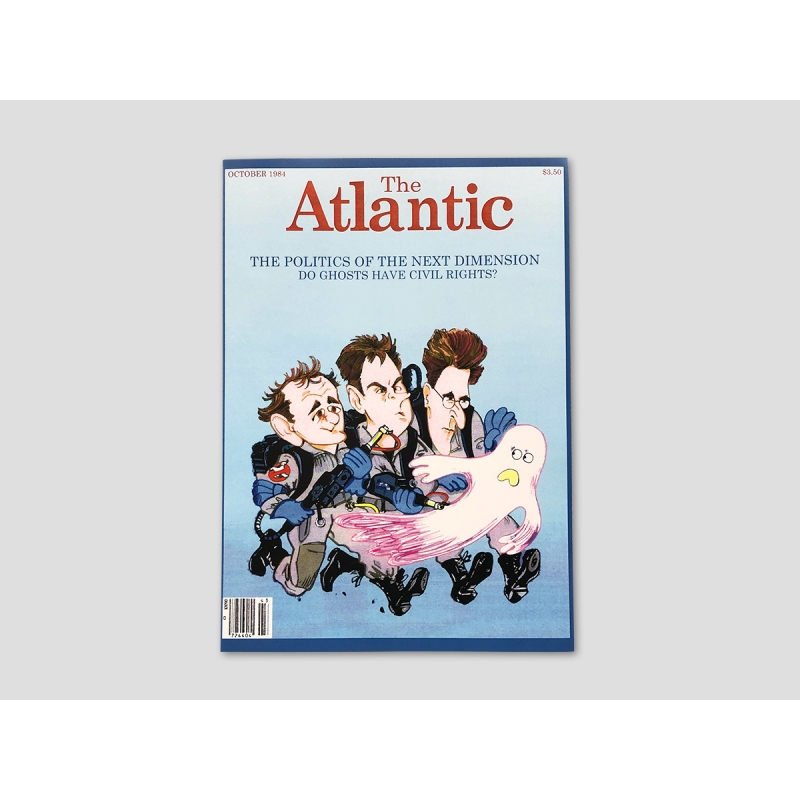 Titelseite THE ATLANTIC MAGAZINE