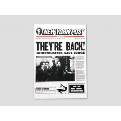 """Title page NEW YORK POST """"THEY'RE BACK!"""""""