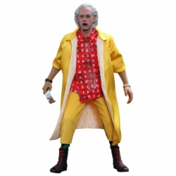 Hot Toys Back To the Future 2 II Dr Emmett Brown 1:6 Aktionfigur MMS380