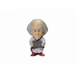 SD Toys–Doc Brown Figur Antiestres zurück in die Zukunft, Farbe Nicht  sdtuni89050