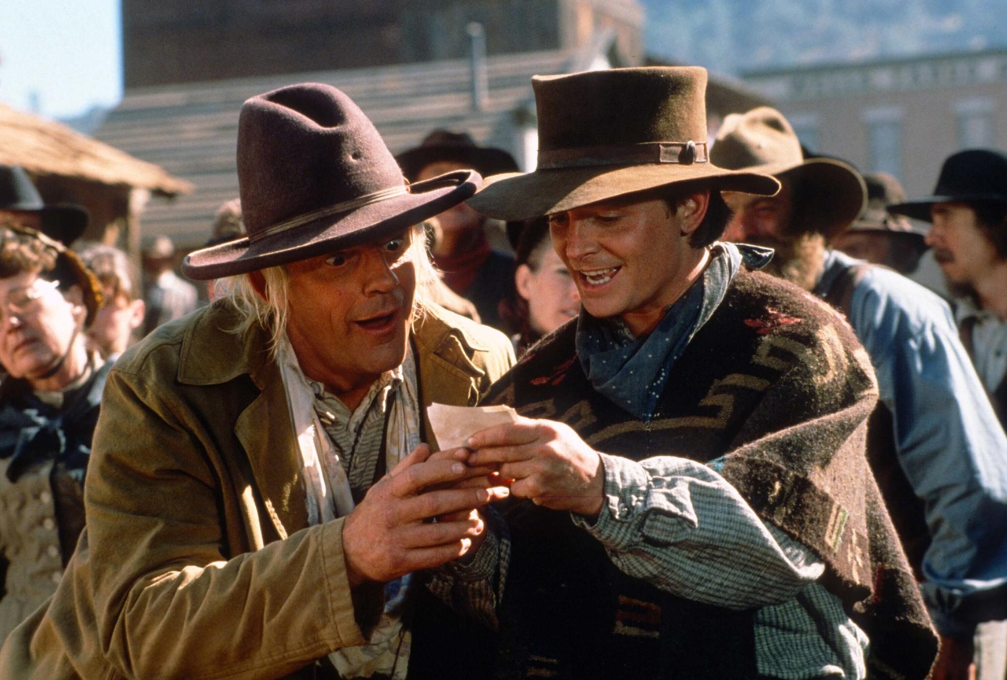 In Teil 3 hat es Doc und Marty in den Wilden Westen verschlagen.