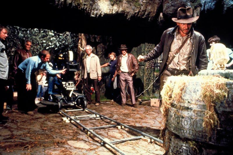 Shooting of the Raiders of the Lost Ark.
