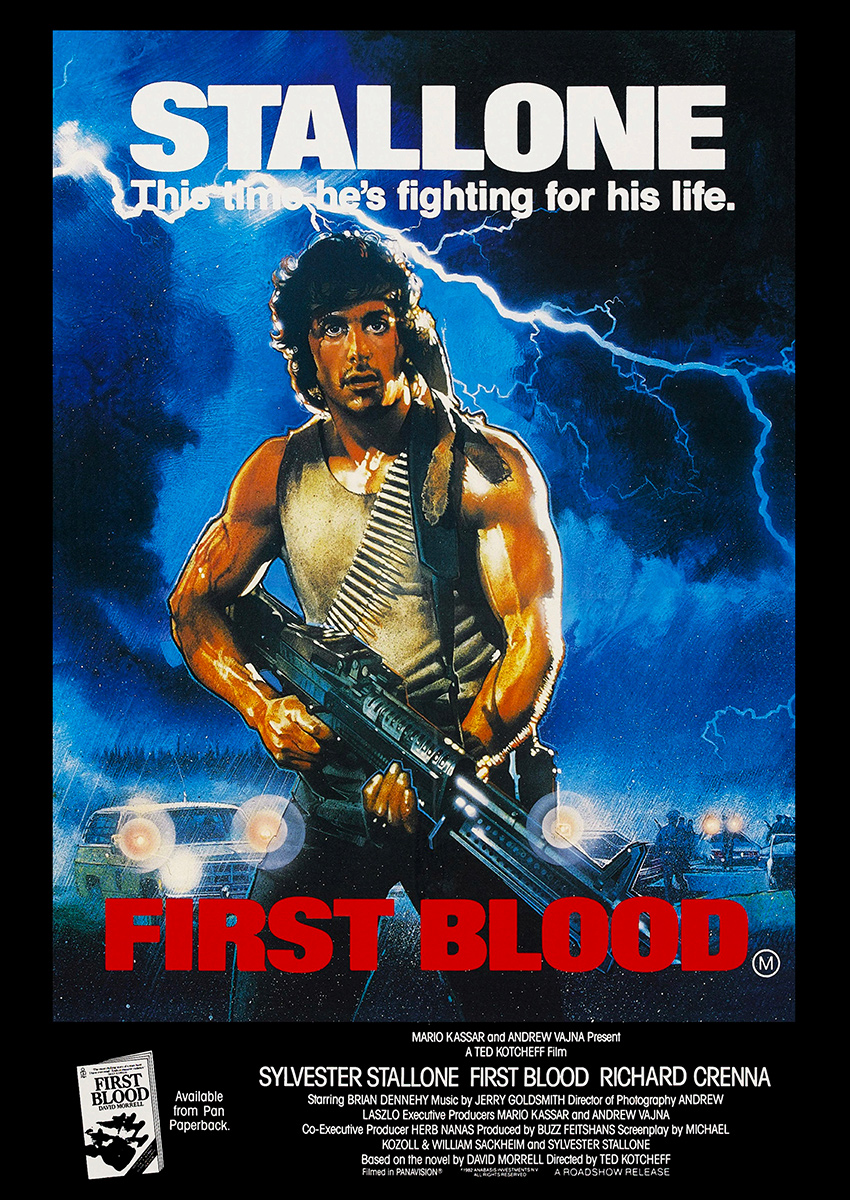 Rambo: First Blood Poster