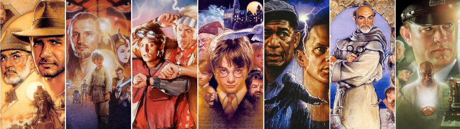 Lord Of Posters Hollywoods Most Famous Poster Artist Drew Struzan