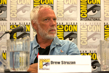 Drew Struzan bei der Comic Con International 2012 in San Diego.
