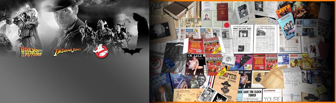 Film Props und Memorablia