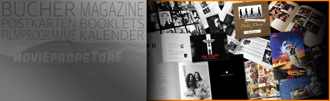 Bücher, Magazine, Kalender, Postkarten u.v.m.
